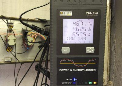 Analizator kvalitete električne energije in merjenje rabe